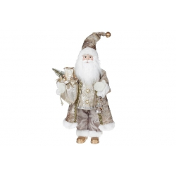 Мягкая игрушка Санта 46см, цвет - бежевый