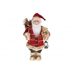Мягкая игрушка Санта 46см, цвет - красный