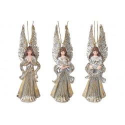 Декоративная подвесная фигурка Ангел, 12см, 3 вида