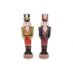 Декоративная керамическая фигурка Щелкунчик, 16см, 2 вида