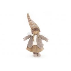 Декоративная фигура Девочка 64см, цвет - коричневый