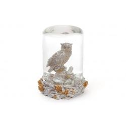 Декоративный водяной шар 14.5см Сова
