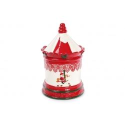 Банка керамическая для хранения сладостей 3.5л Карусель