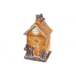 Банка для сладостей керамическая Домик из печенья 1.6л