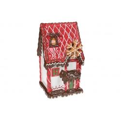 Банка для сладостей керамическая Домик из печенья 3.2л