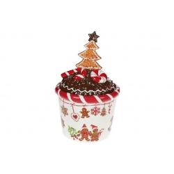 Банка для сладостей керамическая Печенье 2л