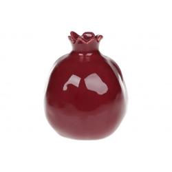Ваза керамическая Гранат, 12.5см, цвет - бордо