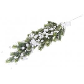 Декоративная гирлянда Снежки 78см
