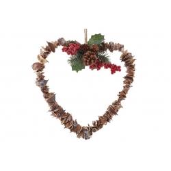 Венок новогодний Сердце