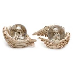 Декоративный водяной шар 5см Ангел, 2 вида
