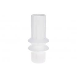 Ваза керамическая 28см, цвет - белый (с недостатками)