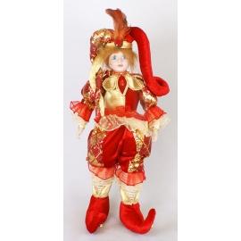 "Новогод. игрушка ""Клоун с музыкой"""