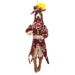 Декоративная фигура на подвесе Собака 40.5см