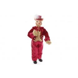 Декоративная фигура Поросенок 40см, цвет - красный