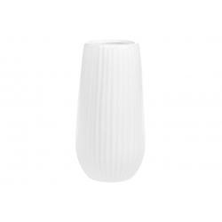 Ваза керамическая 18см, цвет - белый