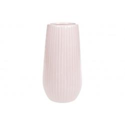 Ваза керамическая 18см, цвет - розовый