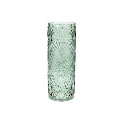 Ваза стеклянная Астра, 43см, цвет - зеленый